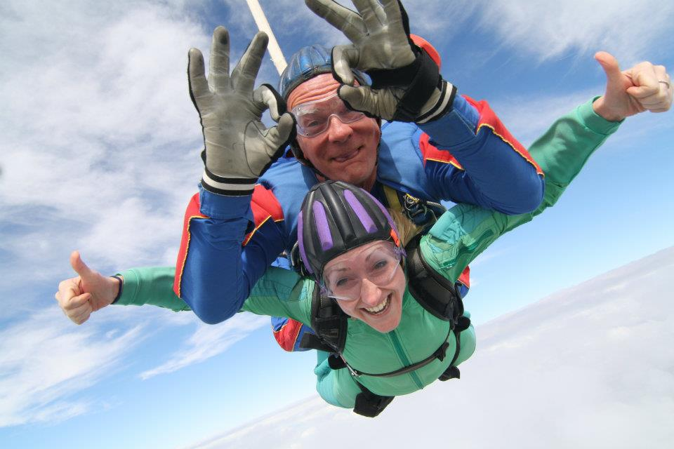 Karen Freemantle Skydive