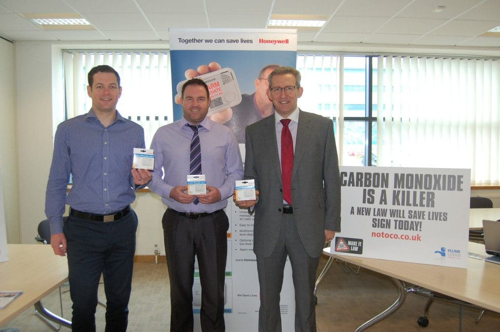 CO Awareness day at Plumb and Parts Centre's Head Office