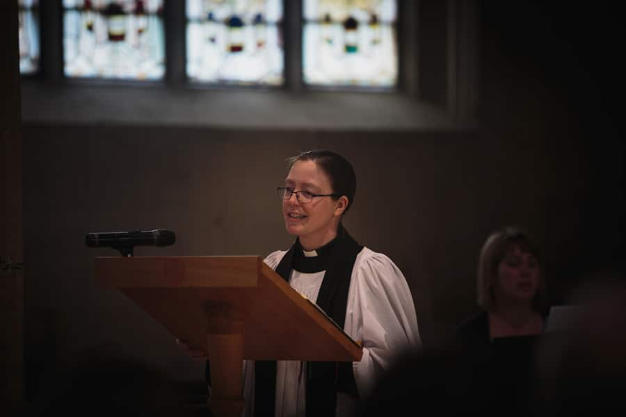 40th Birthday Commemoration Service Reverend Caroline