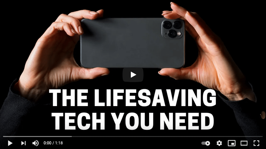 Lifesaving tech that's way more important than the latest phone upgrade!