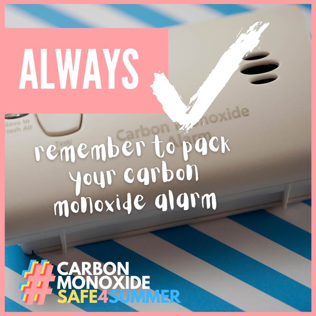 STAY CARBON MONOXIDE SAFE THIS SUMMER!
